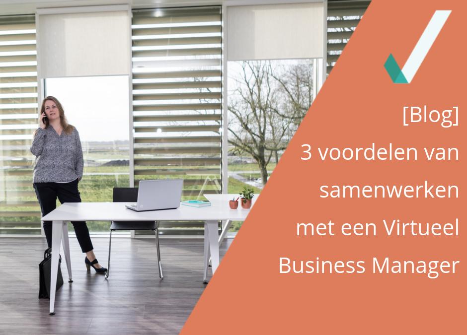 3 voordelen van samenwerken met een Virtueel Business Manager